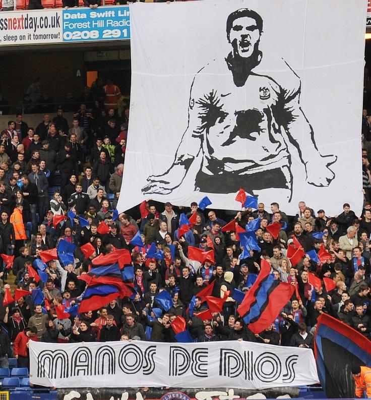 Holmesdale Fanatics tribute to Julian Speroni #cpfc