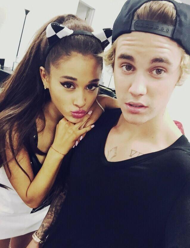 Grande and Justin