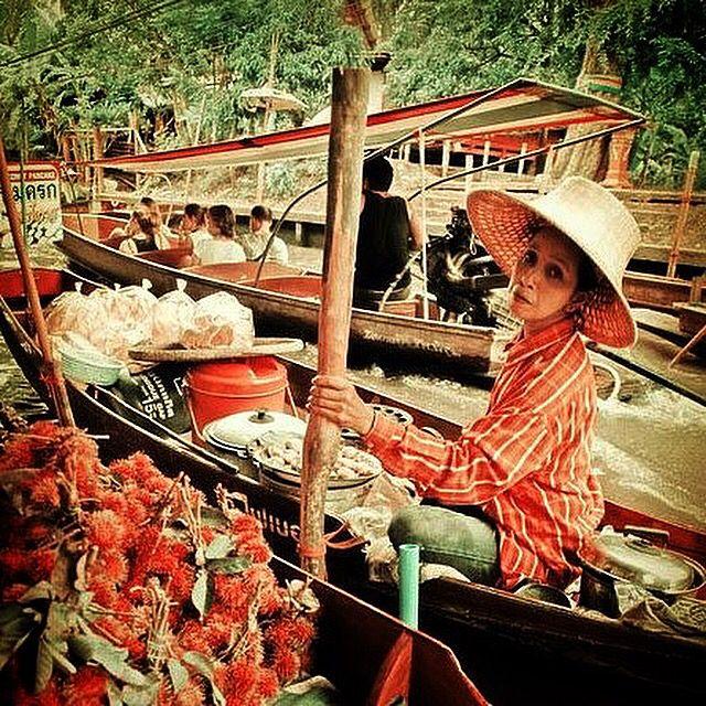 #thailand #floatingmarket # bangkong