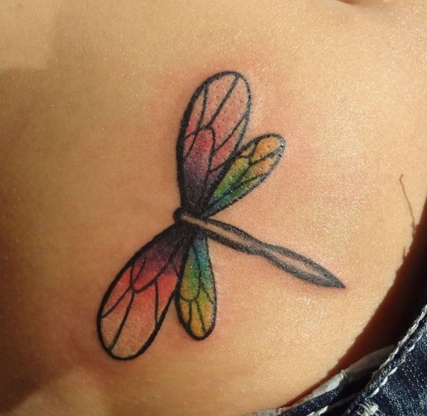 Best 25+ Small Dragonfly Tattoo Ideas On Pinterest