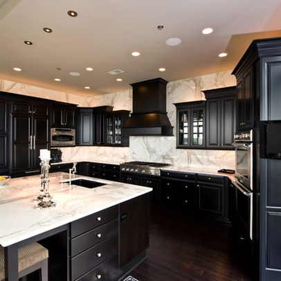 Kitchen Ideas With Dark Hardwood Floors best 25+ dark kitchens ideas on pinterest | dark cabinets, dark