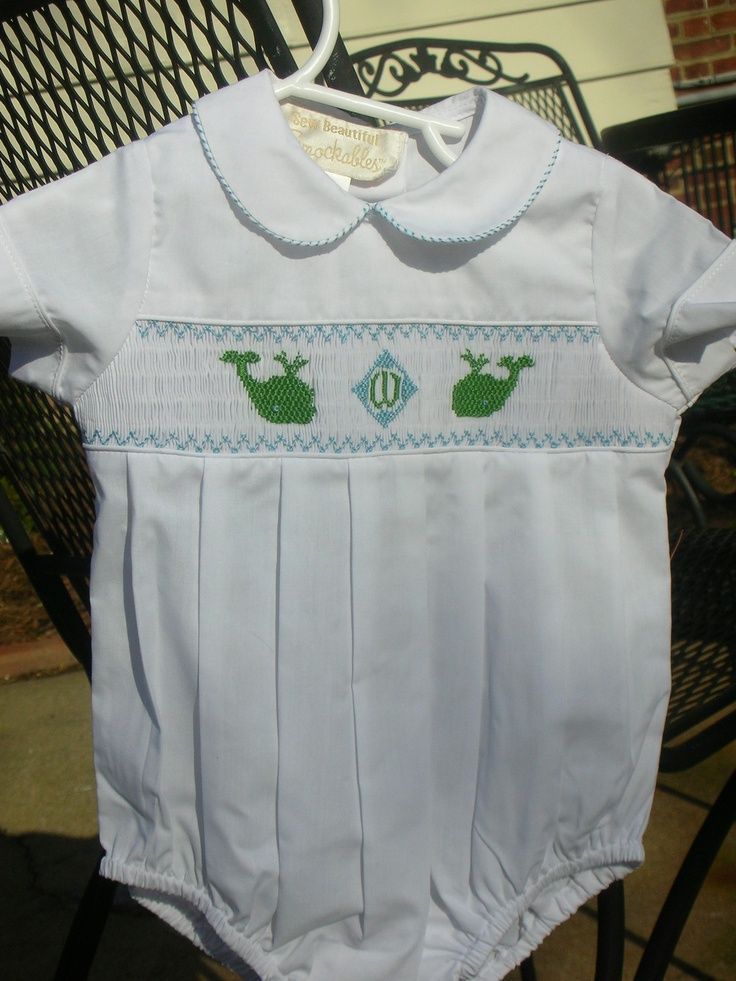 286 best images about smocking and sewing for my sweet baby boy on pinterest