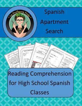 La Casa - Spanish Apartment Search- Reading Comprehension & Writing!