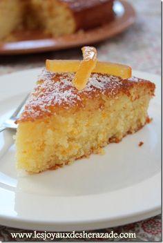 fondant à l'orangeGâteau à l'orange extra moelleux - Les Joyaux de Sherazade
