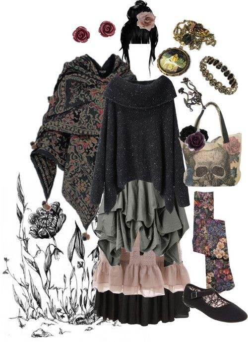 pandora-hydrangea-velours:  Ophelia par pandora-hydrangea-velours utilisant flower wall art