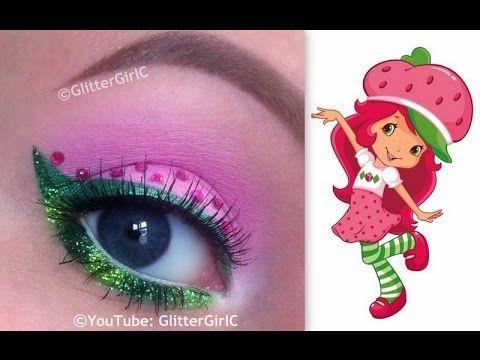 Strawberry Shortcake Makeup Tutorial. Youtube channel: http://full.sc/SK3bIA