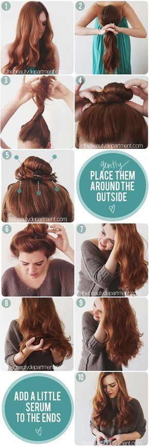 overnight-heatless-curls-waves-bun