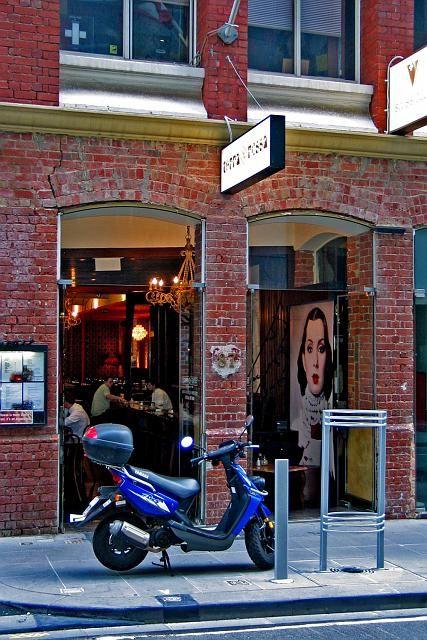 Cafe Flinders Lane Melbourne Victoria Australia (City)