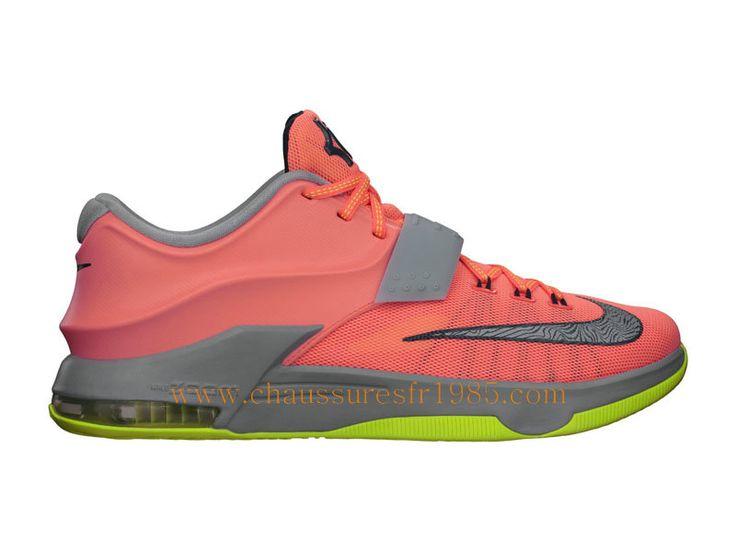 wholesale dealer d51cd 40a85 ... Nike KD VII 7 35K Degree Chaussures Pas Cher Pour Homme Rose 653996-840  ...