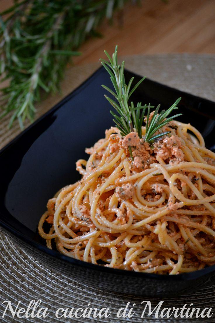 spaghetti al rosmarino ricetta nella cucina di martina