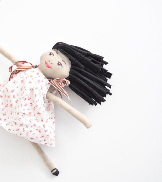 Handmade Cloth Doll by WiseSewcialTies