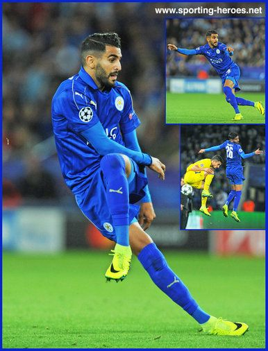 Riyad MAHREZ - Leicester City FC - 2016/17 Champions League.