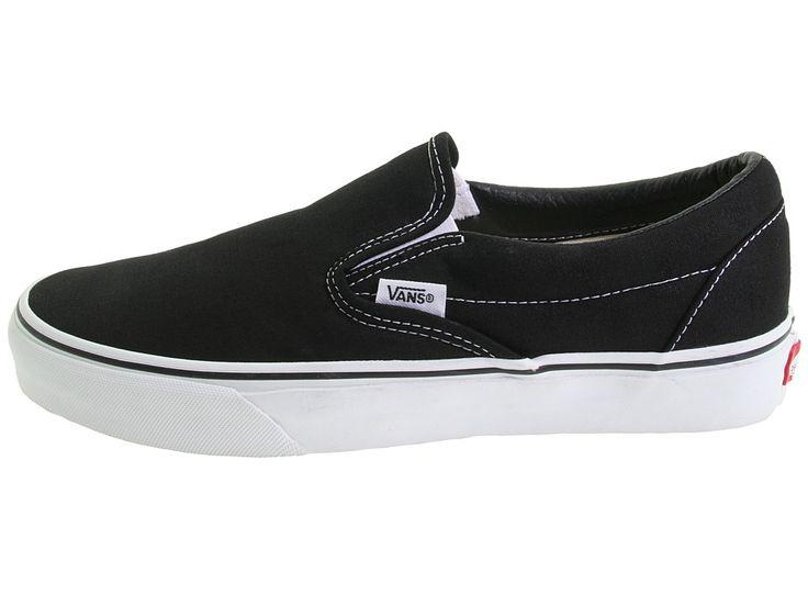 Vans Classic Slip-Ontm Core Classics Shoes Black (Canvas)