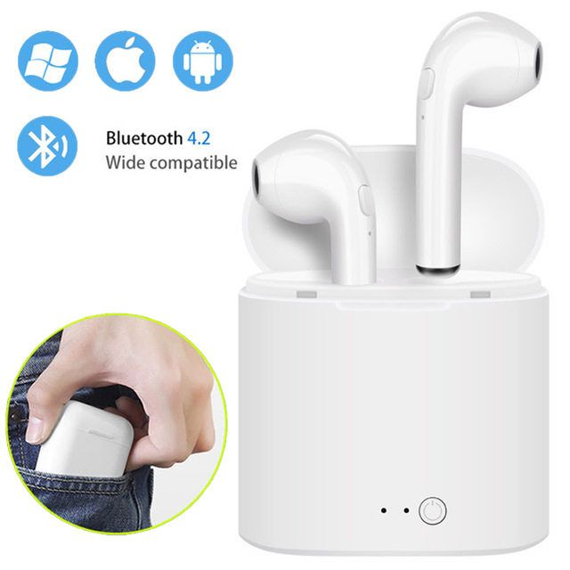 I7s Tws Mini Wireless Bluetooth Earphone Stereo Earbud Headset With Charg Bluetooth Wireless Earphones Bluetooth Headphones Wireless Bluetooth Earbuds Wireless