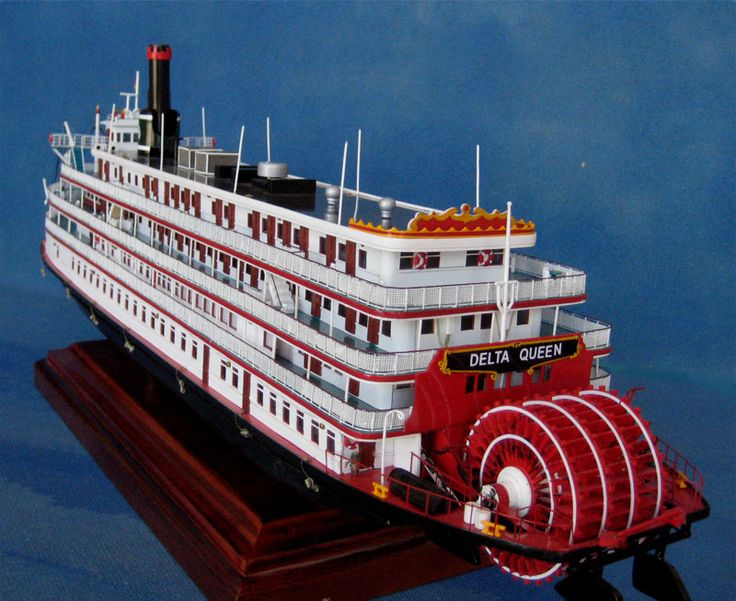 Delta Queen Model Riverboat