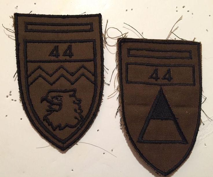 South African Special Forces Paratrooper Border War Badges