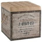 Square Storage Crate - industrial - ottomans and cubes - by Masins Furniture