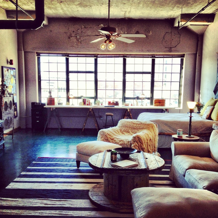 Oklahoma City Downtown Loft   plentyteamstyle25  best Downtown lofts ideas on Pinterest   Loft  Industrial loft  . Okc Downtown Living. Home Design Ideas