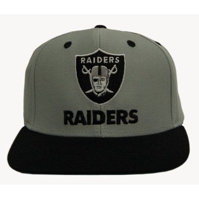 2 Tone Oakland Raiders Snapback Hat Cap - 2 Tone Grey Black by Reebok. $17.86. Officially Licensed Merchandise. Oakland Raiders Snapback Hat. NFL. 2 Tone Oakland Raiders Snapback Hat Cap - 2 Tone Grey Black