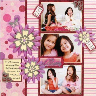 http://www.favecrafts.com/Scrapbooking-Layouts/Budding-Stars-Scrapbook-Layout-from-Paper-Wishes#