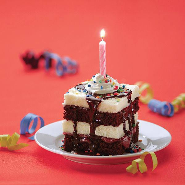 A Birthday Ice Cream Sundae Cake from  Smucker's ® .