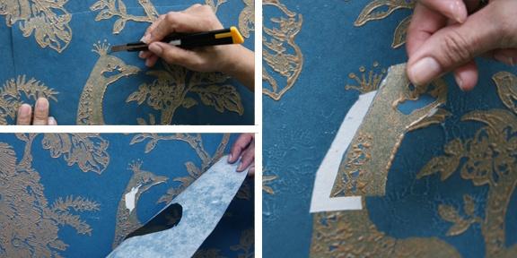 wallpaper seam repair tape