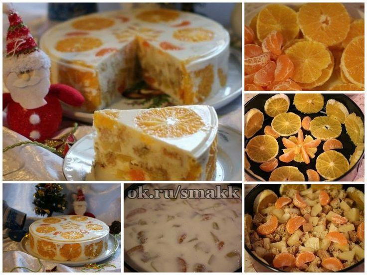 """Лучшие кулинарные рецепты: Желейный торт """"Фруктовый"""""""