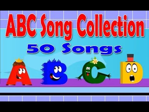 Alphabets Song Collection   50 ABC Song Collection   Phonics Alphabets Rhymes - YouTube