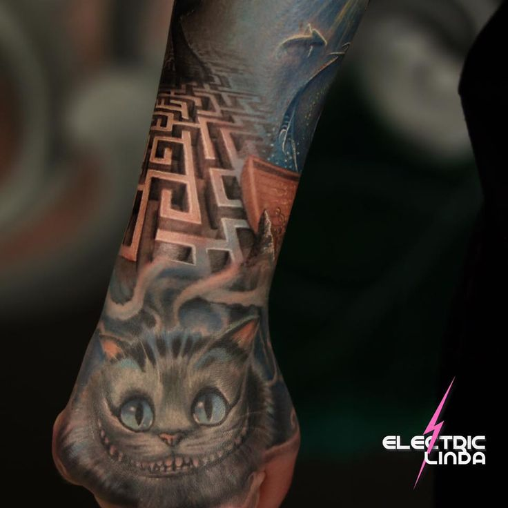 My Beautiful Cheshire Cat and beginning of the maze :D