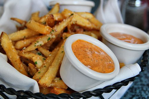 parmesan fries, July 13 is National French Fry Day!