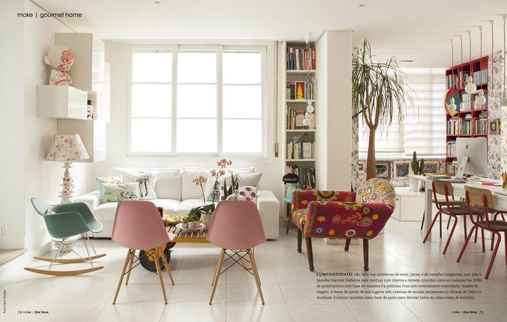 Decoração da Minha Sala e Cozinha | Danielle Noce