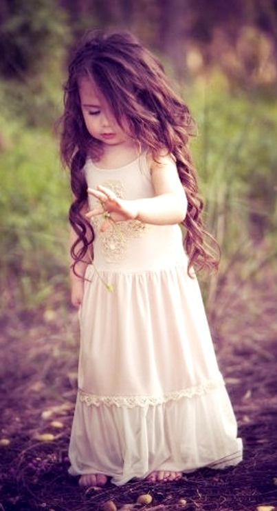 Beautiful!    If I had a daughter, this is exactly what her hair would look like❤️❤️❤️
