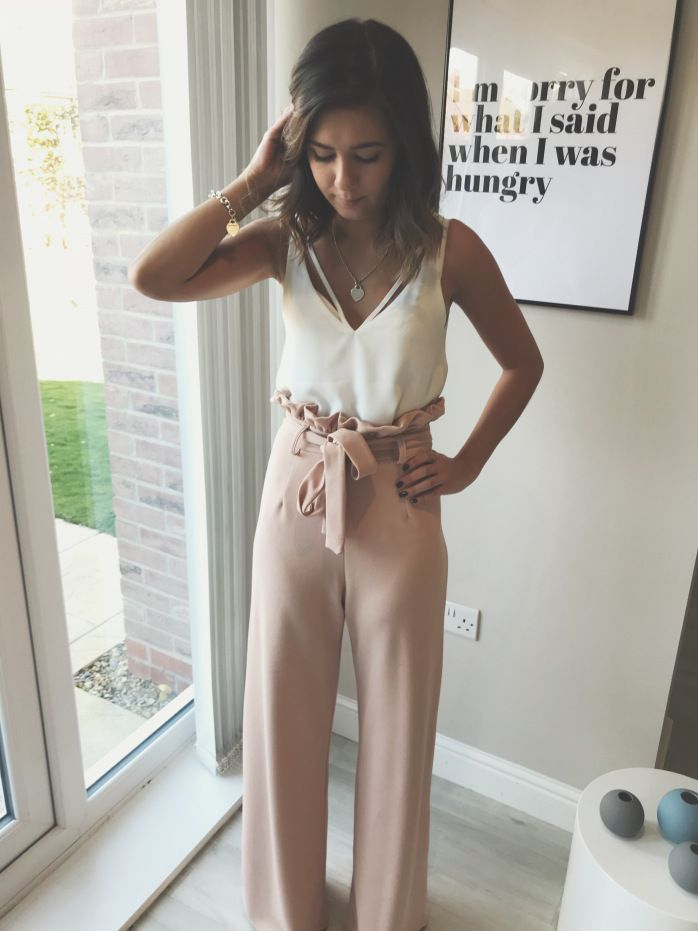 Cami Top and Paperbag Trousers