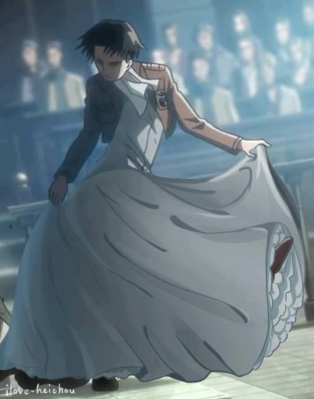 ((I just choked on my bagel here. Levi, Disney princess, haaaaa-))