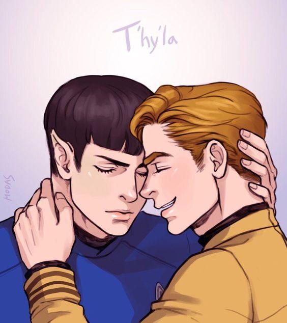Star Trek - James Kirk x Spock - Spirk