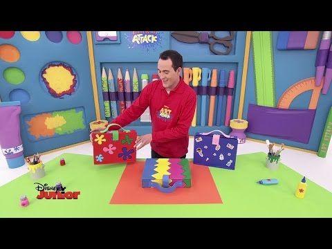 Art Attack - Jo le Roi du Saut - Disney Junior - VF - YouTube