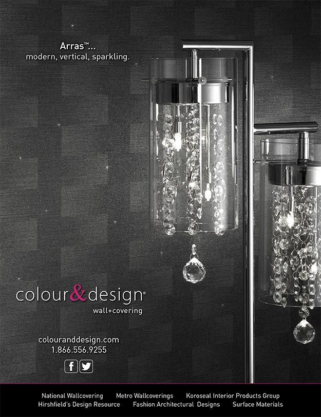 20 best commercial wallcovering advertisements images on Commercial interior design magazine