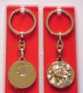 St Christopher Rosary Key Ring.