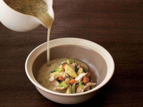 Chicken Soup with Dumplings Recipe   Thomas Keller