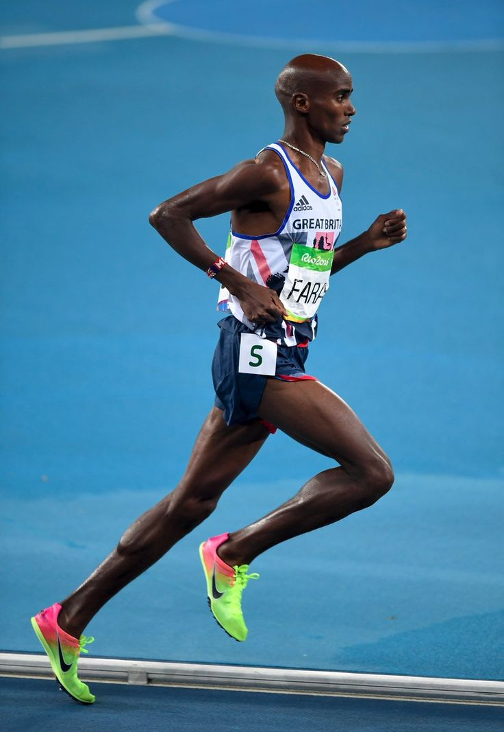 The Dreamer LDN — Mo Farah gets the double-double! He wins 5000m...