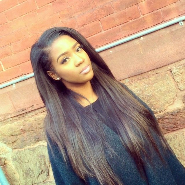 Enjoyable 1000 Ideas About Straight Weave Hairstyles On Pinterest Hairstyle Inspiration Daily Dogsangcom