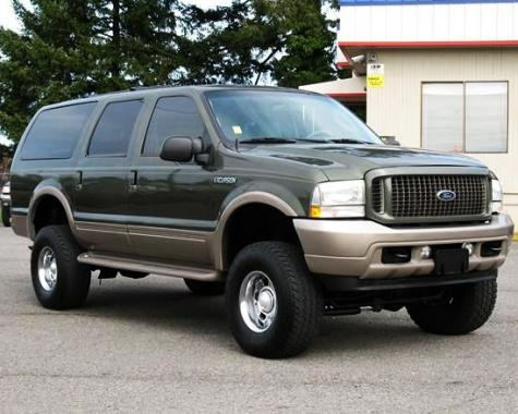 Lifted SUV For Sale: 2003 Ford Excursion Eddie Bauer Sport  — $13995