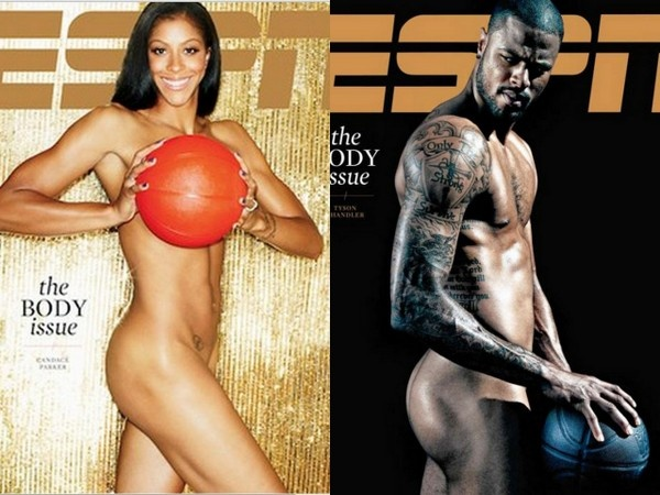 Candace Parker and Tyson Chandler Pose Nude for ESPN the Magazine's Body Issue