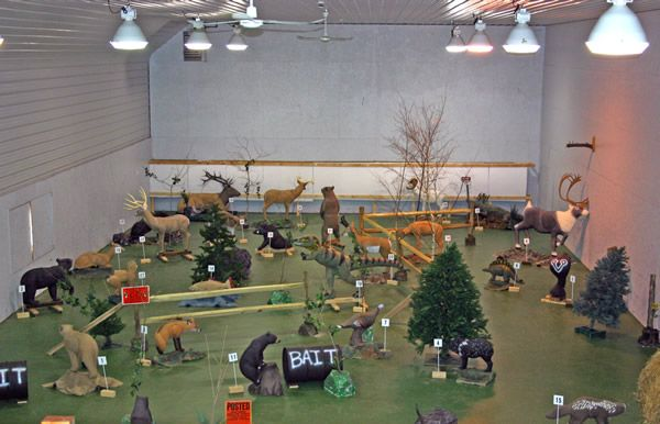 how to make an indoor archery backstop