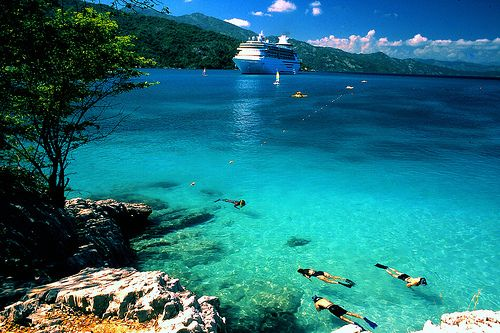Labadee Haiti - beautiful private island for Royal Carribean Cruise Lines