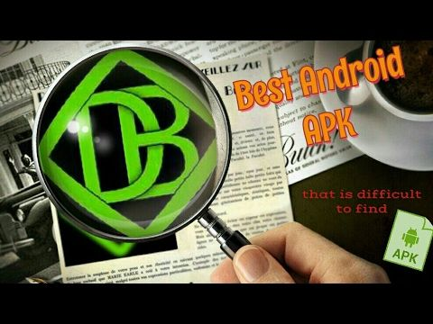 Best Android APK that is difficult to find. - YouTube
