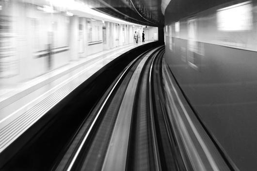 Tokyo Subway af Julie Aucoin