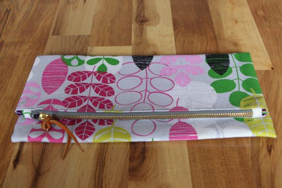 Clutch - Upholstery Fabric