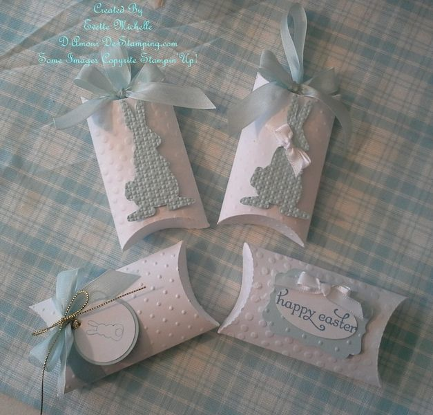 Easter Pillow Boxes Up Close by emichelle - Cards and Paper Crafts at Splitcoaststampers