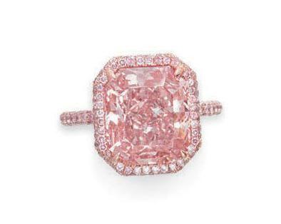 Pink diamond ring - Christie's